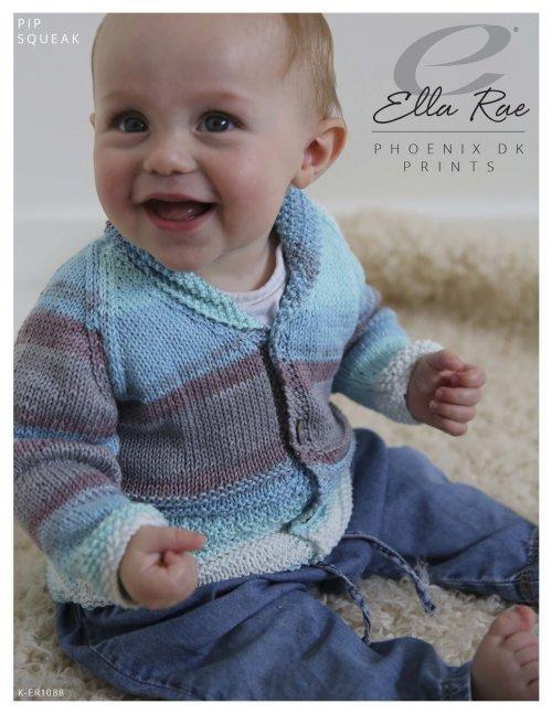 Ella Rae Pattern Pip Squeak Cardigan