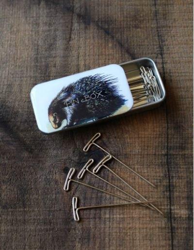Porcupine Pin Tin
