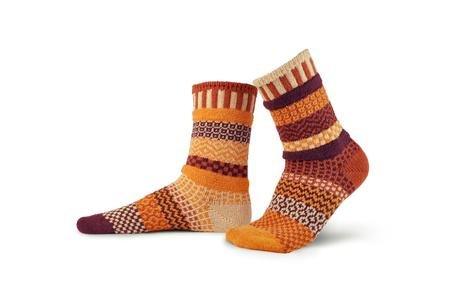 Solmate Crew Socks Pumpkin Pie