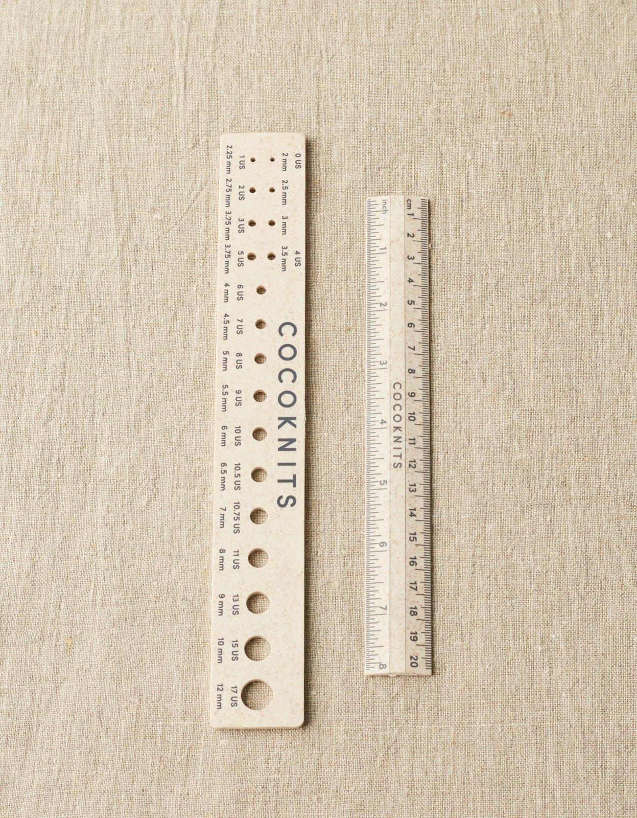 CocoKnits Ruler & Gauge Set