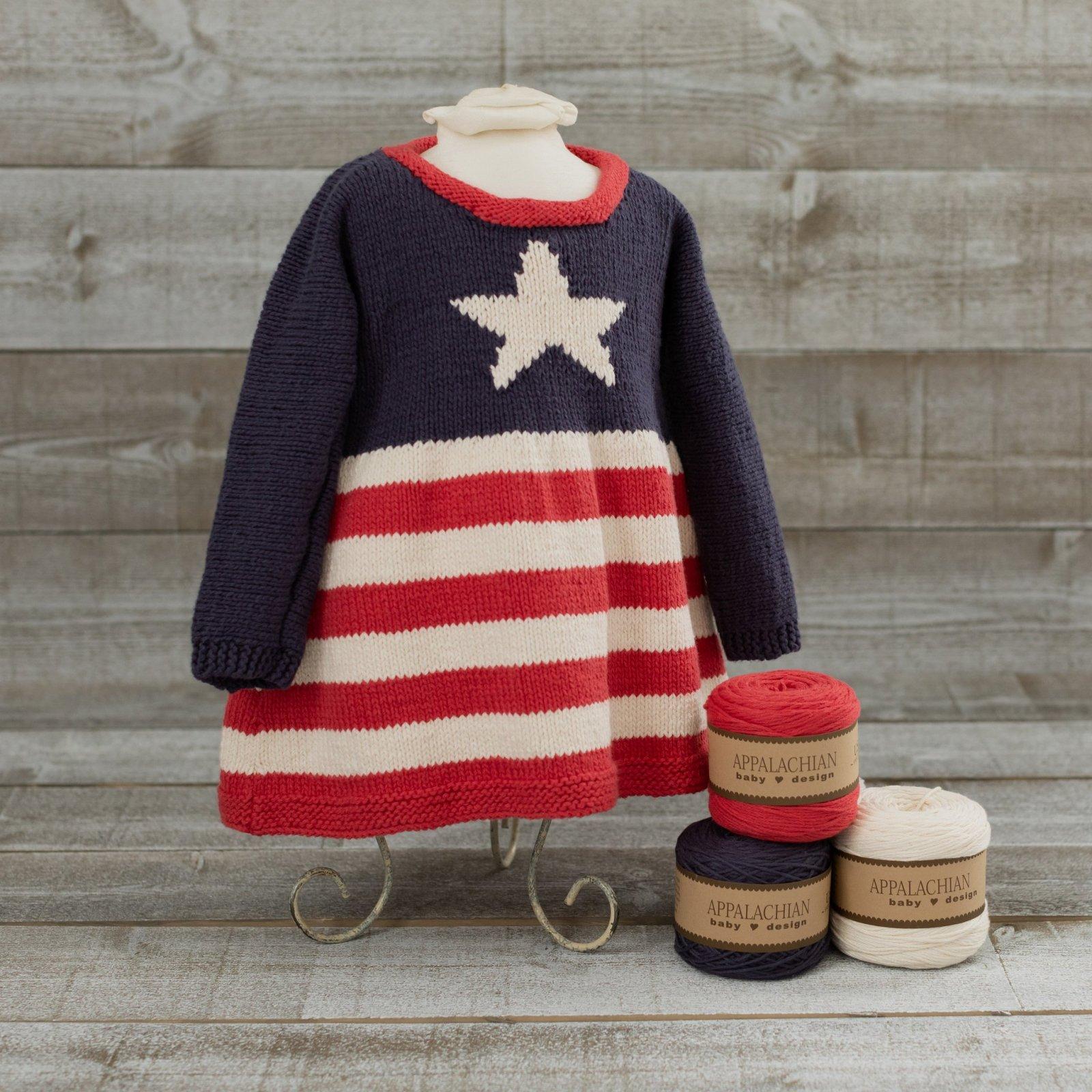 Appalachian Baby Stars & Stripes Dress