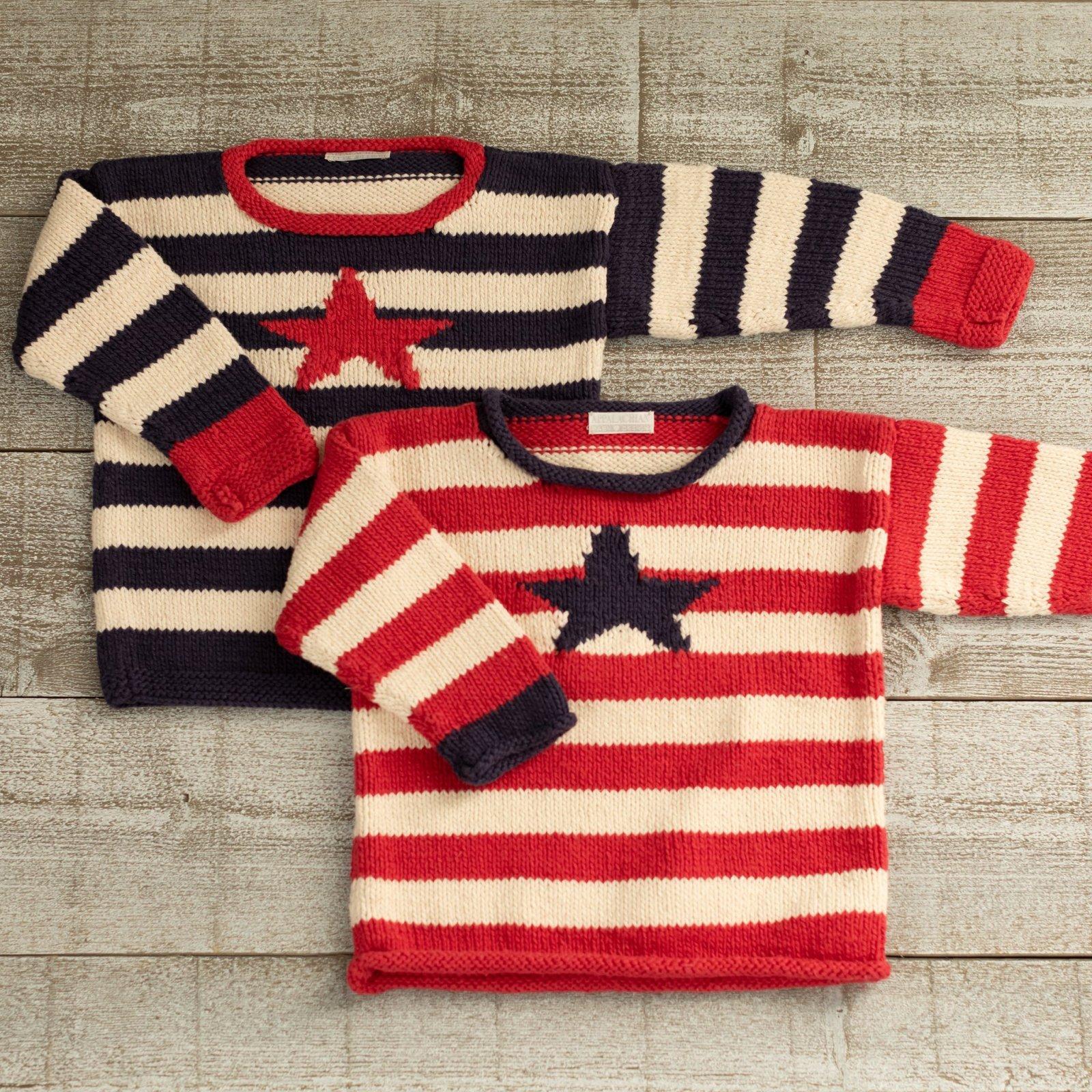 Appalachian Baby Stars & Stripes Pullover