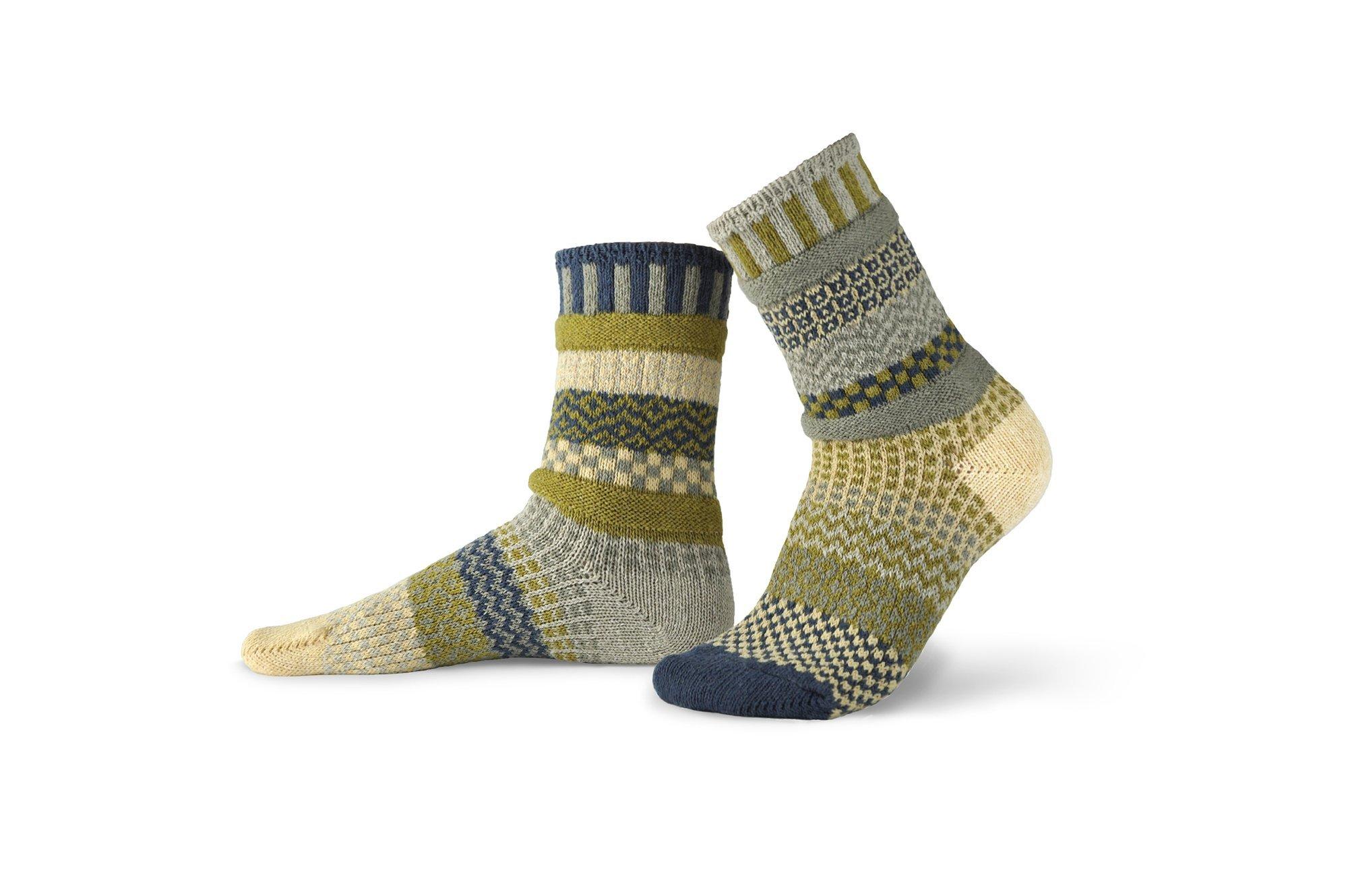 Solmate Crew Socks Sagebrush