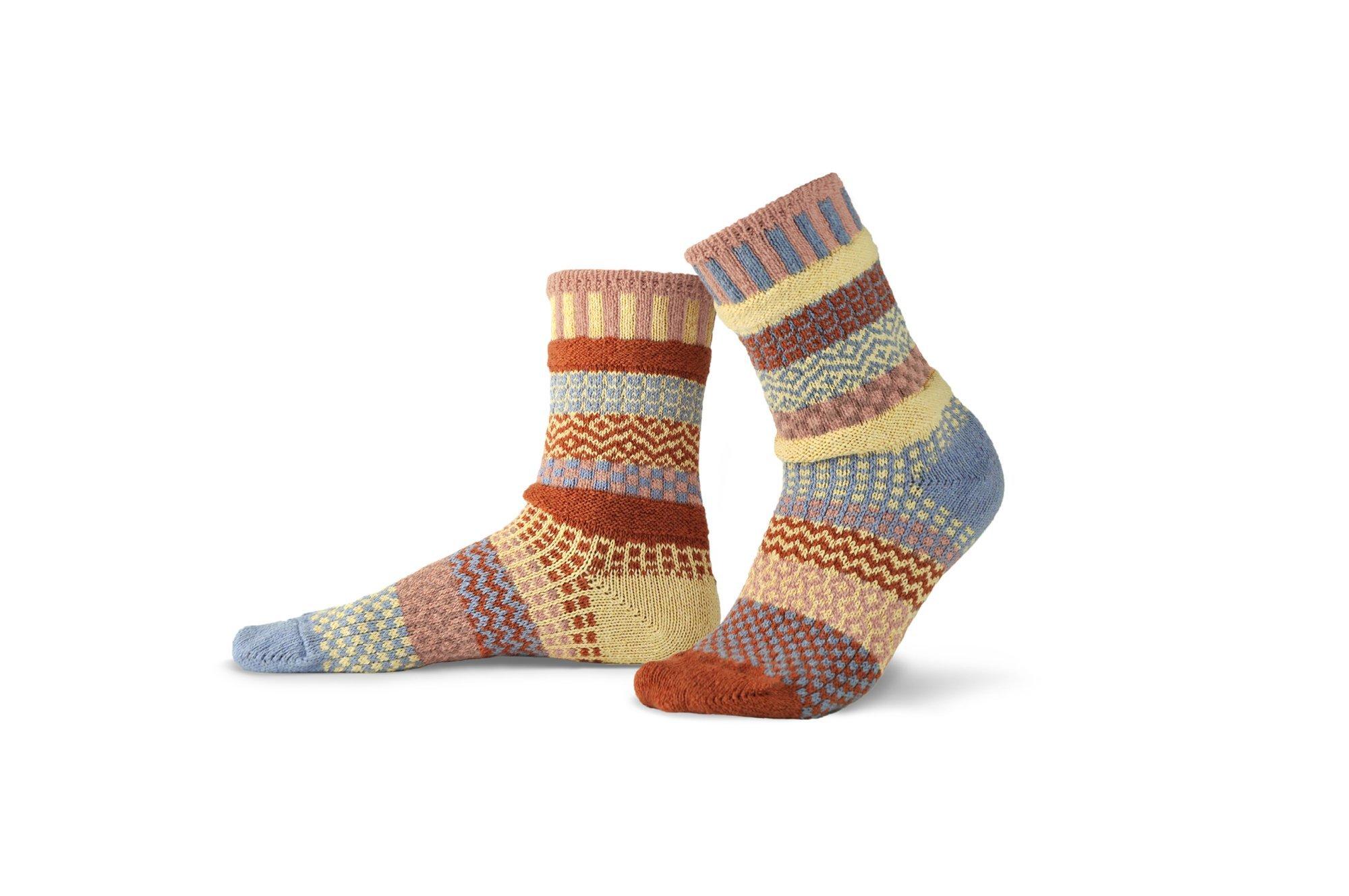 Solmate Crew Socks Sandstone