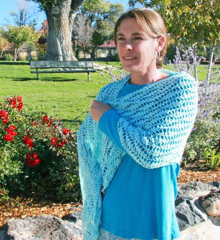 Seaside Shawl Pattern