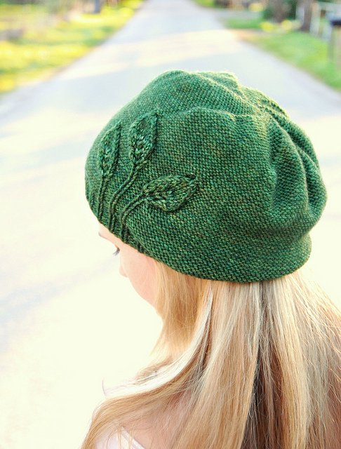 Never Not Knitting Seedling Beret