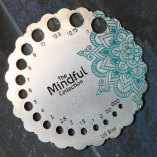 Mindful Sterling Needle Sizer