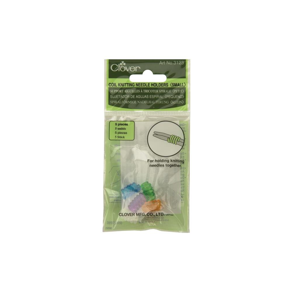Clover Small Coil Knitting Needle Holders
