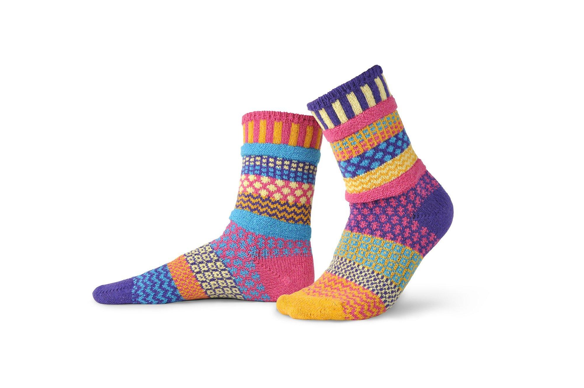 Solmate Crew Socks Sunny