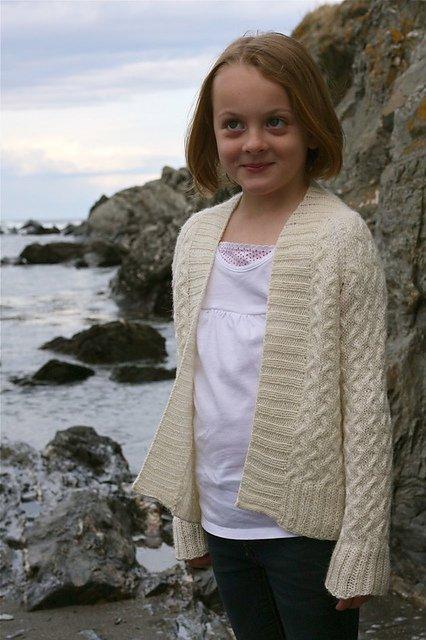 Coastal Kids Tiny Rocky Coast Cardigan