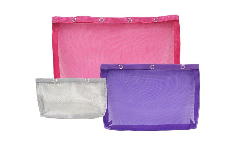 Knitter's Pride Vibrance Zipper Pouches (3pack)