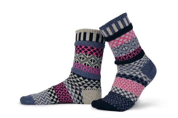 Solmate Wool Crew Socks Aspen