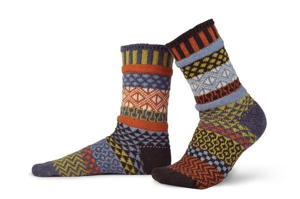 Solmate Wool Crew Socks Ponderosa