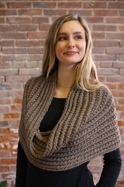 Plymouth Viento Shoulder Warmer Cowl Pattern