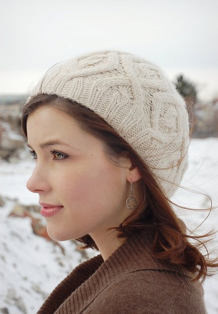 Never Not Knitting Winter Trails Hat