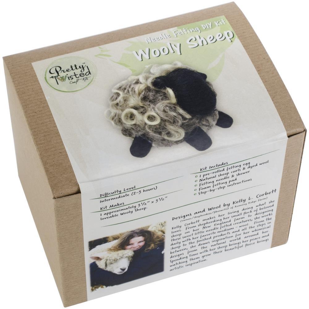 Wooly Sheep Needlefelting Kit