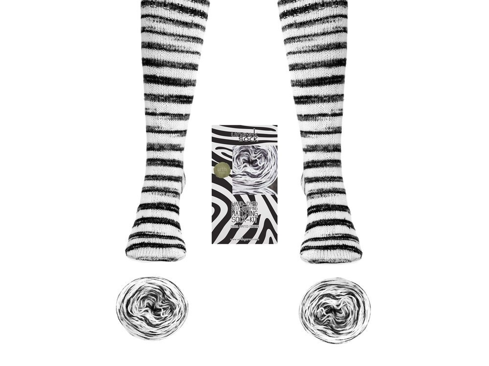 Urth Uneek Zebra Sock Kit