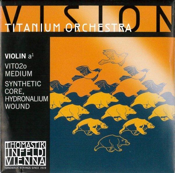 Vision Titanium Orchestra Violin E