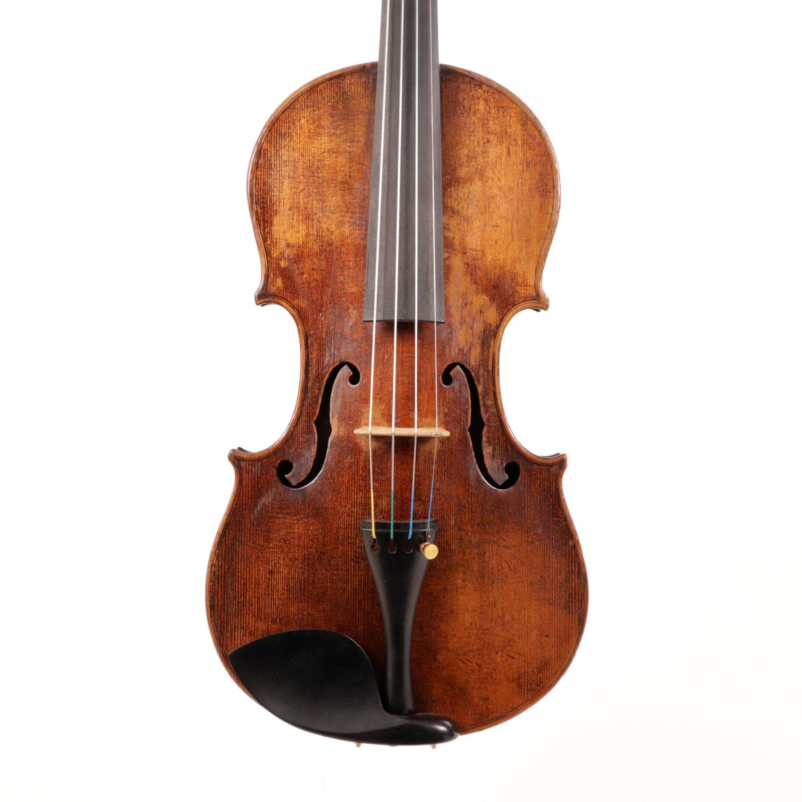 Violin Labeled Nicolus Amati Ca1840