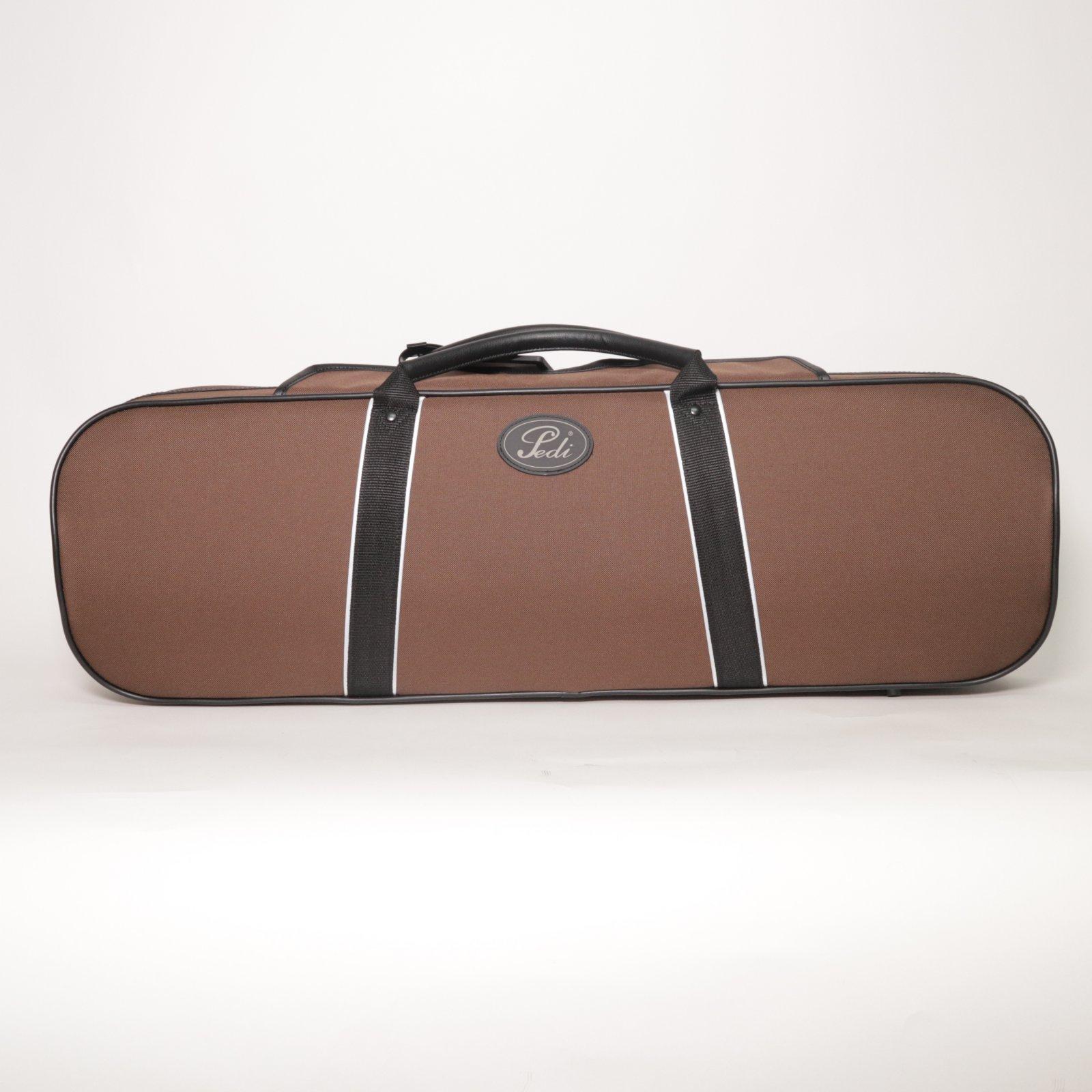Pedi Niteflash Brown Violin Case