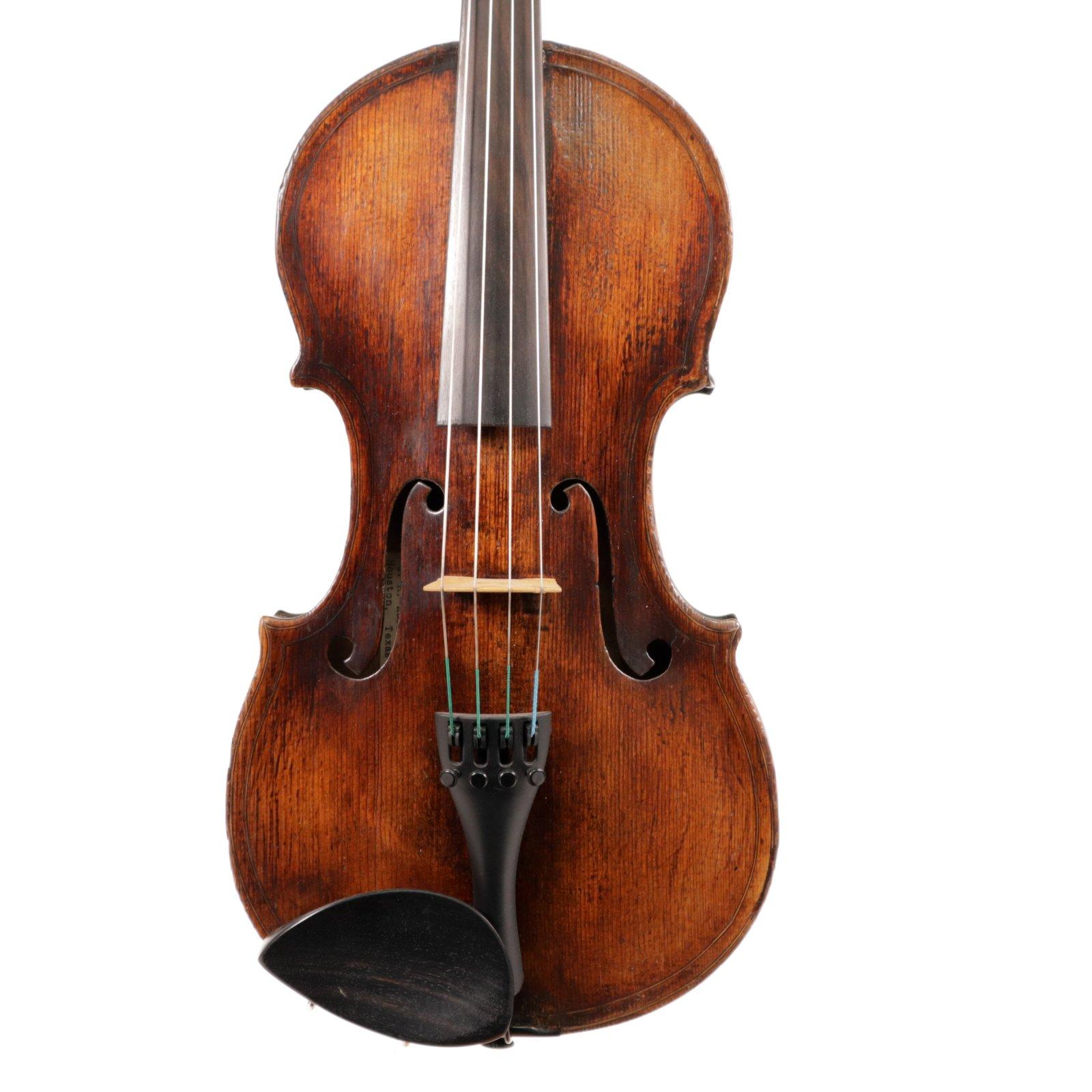 Violin Labeled da Salo