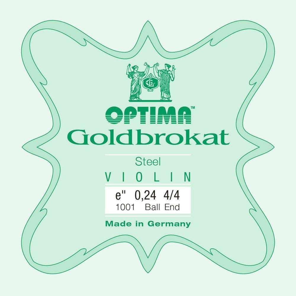 Goldbrokat Violin E 26 BALL