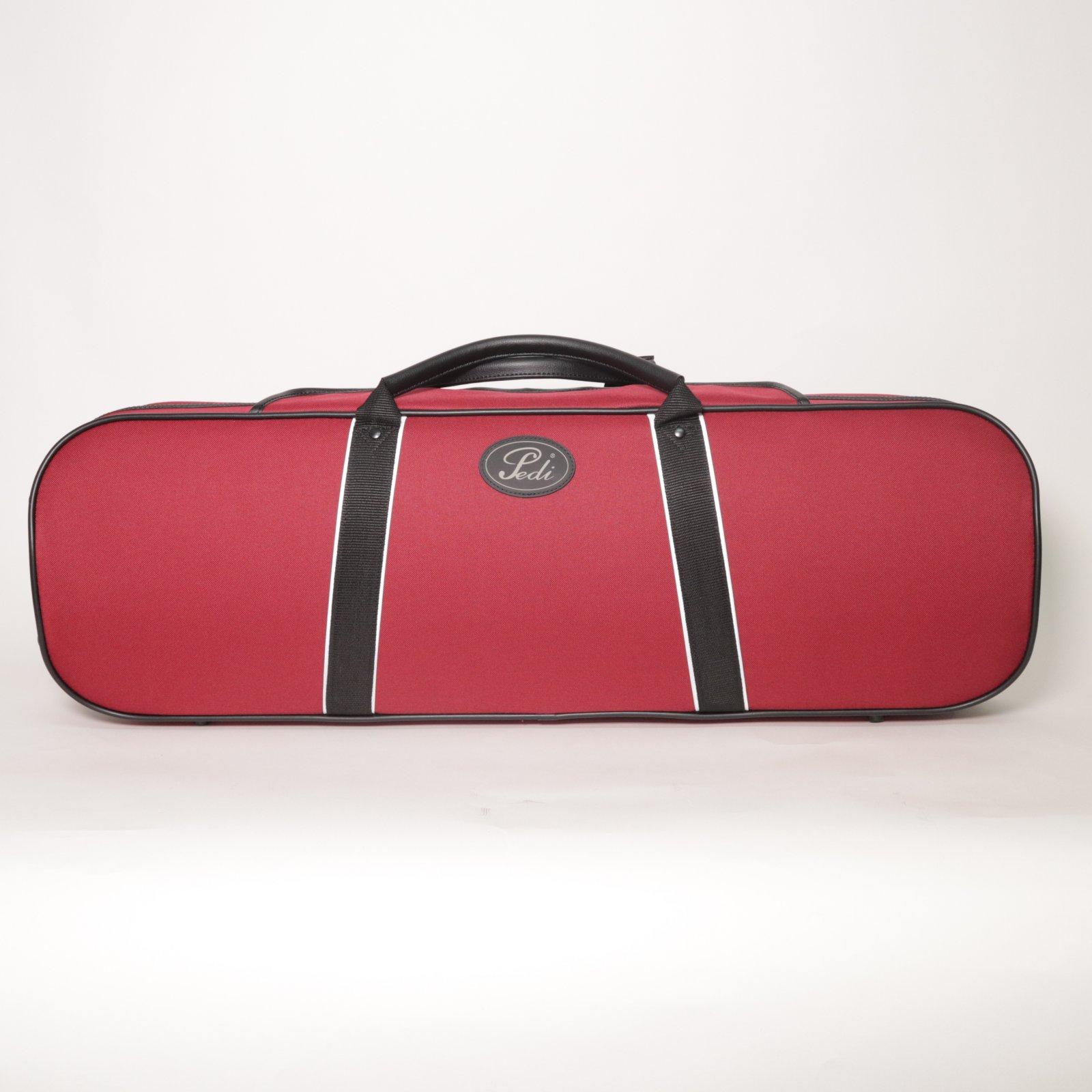 Pedi Niteflash Red Violin Case
