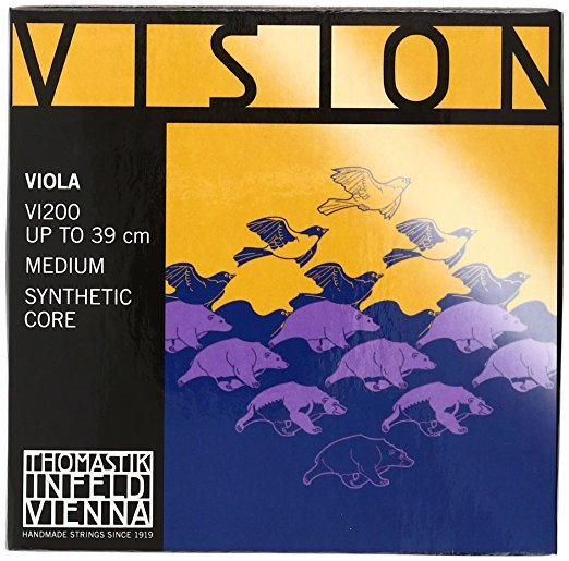 Vision Viola D Silver