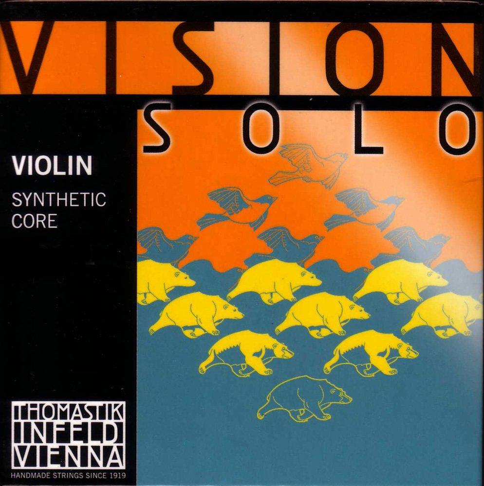 Vision Solo Violin D SIlver