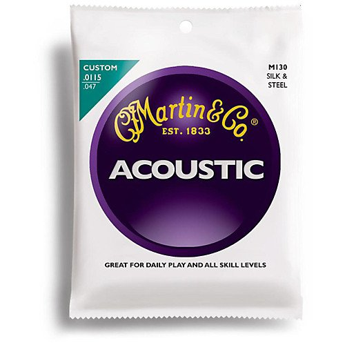 Martin M-130 Silk & Steel Acoustic Strings