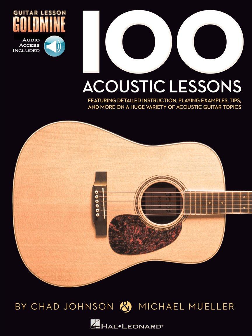 100 Acoustic Lessons: Guitar