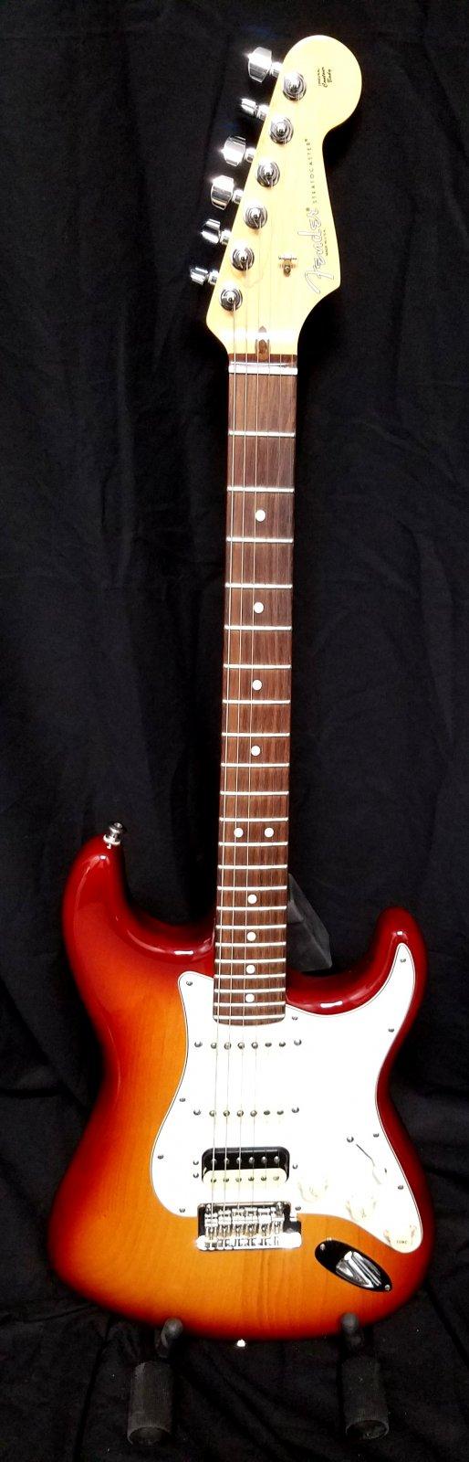 USED Fender American Standard Stratocaster HSS  Sienna Burst