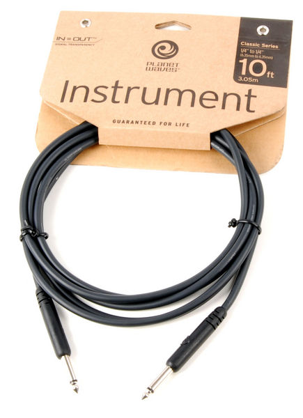 Planet Waves Classic Series Instrument Cable - 10ft