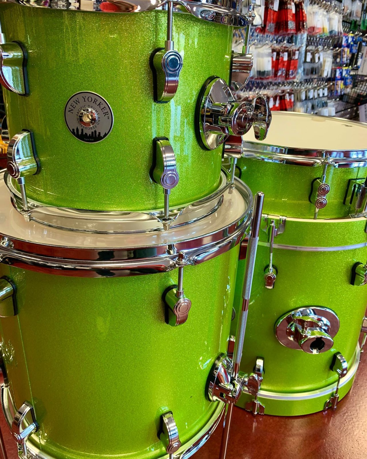 PDP New Yorker 4pc: Electric Green