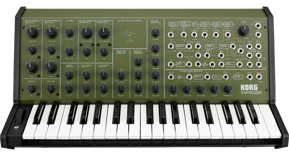 Korg MS-20: Khaki (Green)