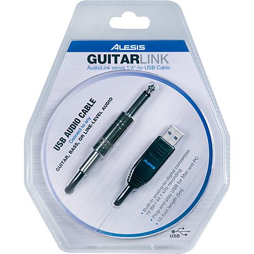 Alesis GuitarLink 1/4 USB Cable - Guitar Link