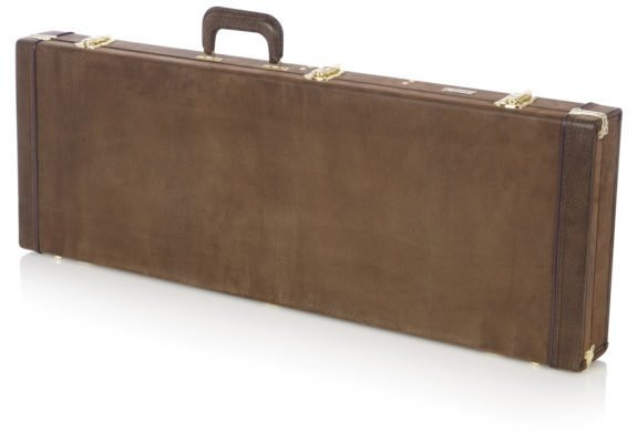 Gator Dlx Electric Guitar Case- Vintage (wood)