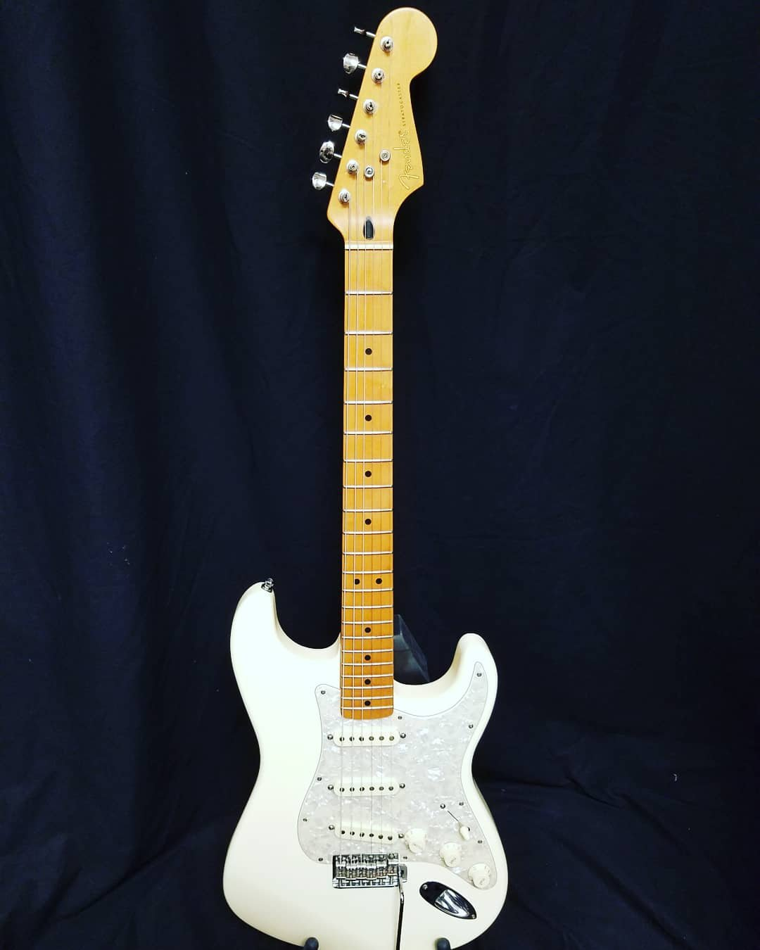 Used Fender Jimmie Vaughn Tex-Mex Stratocaster with Gig Bag