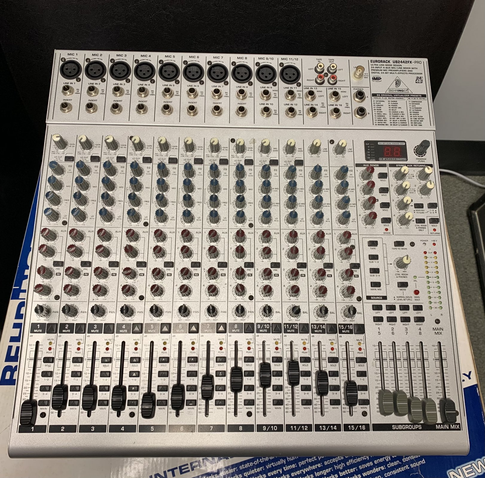 Used (Consignment) Behringer Eurodesk UB2442FX-PRO Mixer