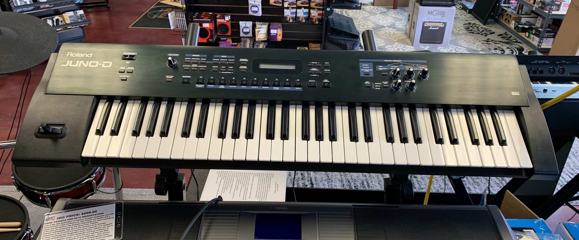 Used (Consignment) Roland Juno D Keyboard
