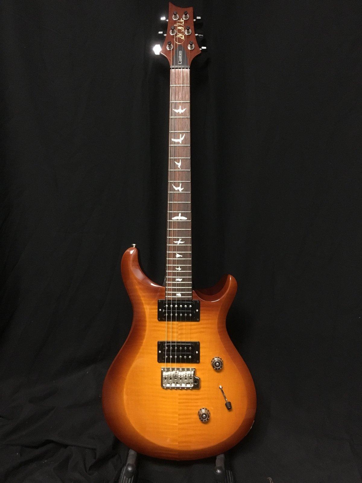 PRS S2 Custom 24 - Violin Amber Sunburst - 2018
