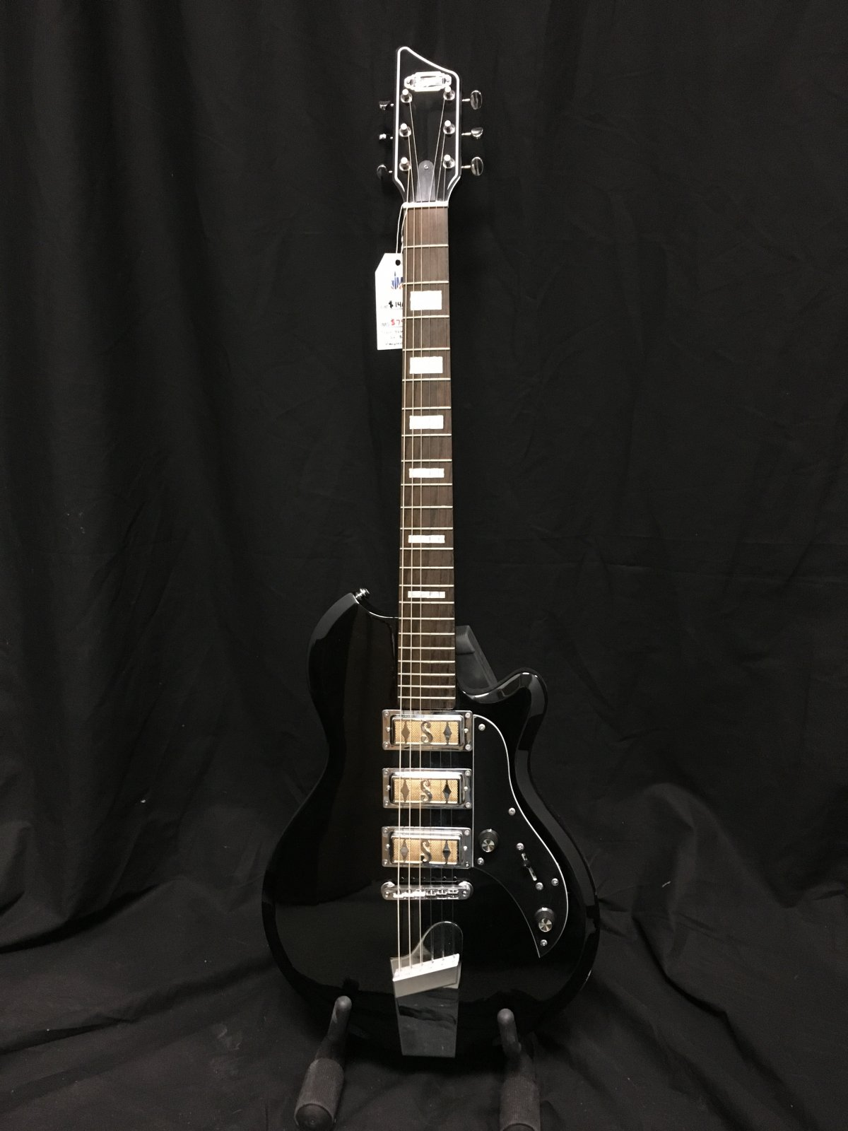 Supro Island Series Hampton - Jet Black