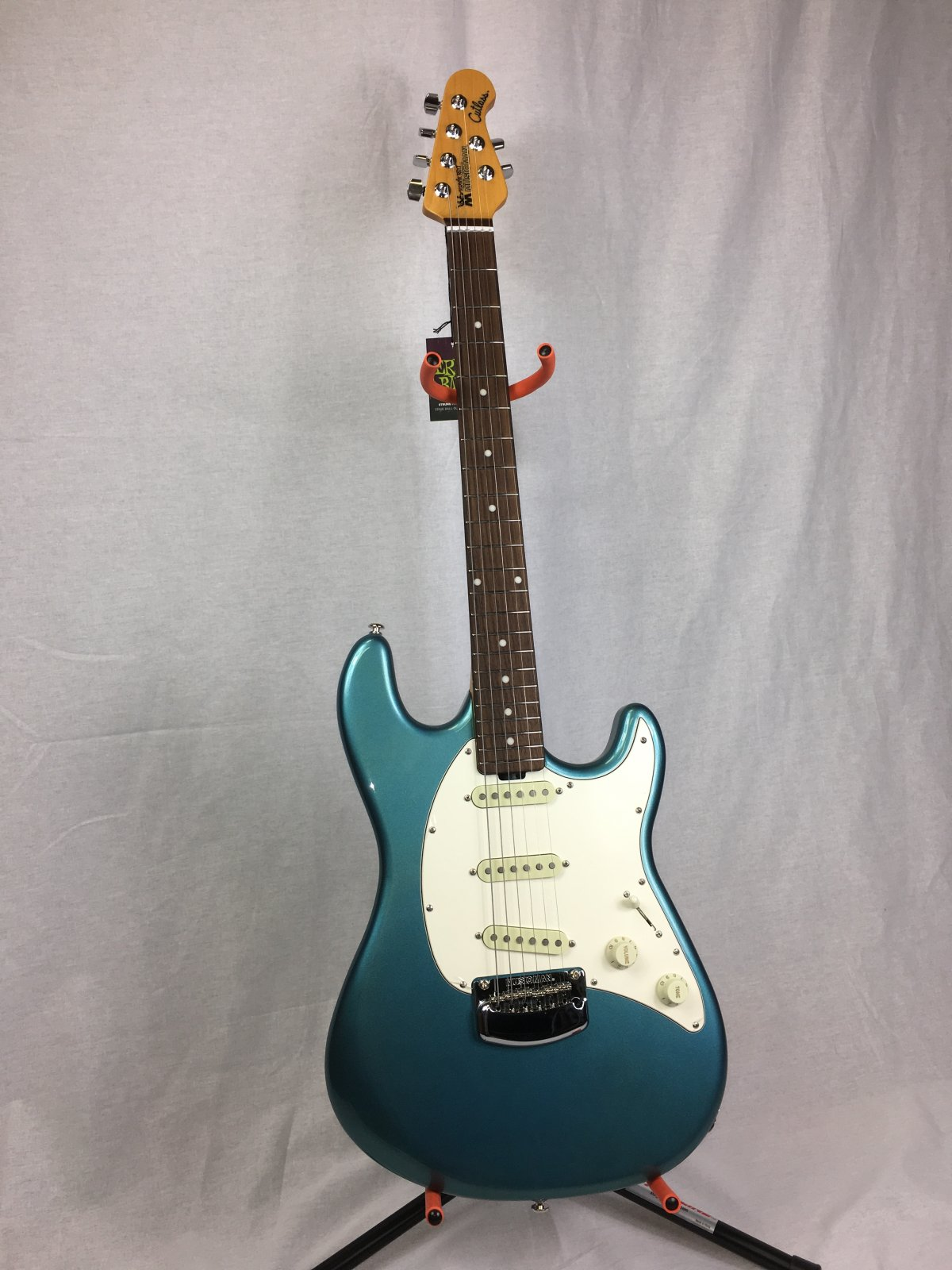 Ernie Ball Music Man Cutlass - Vintage Turquoise