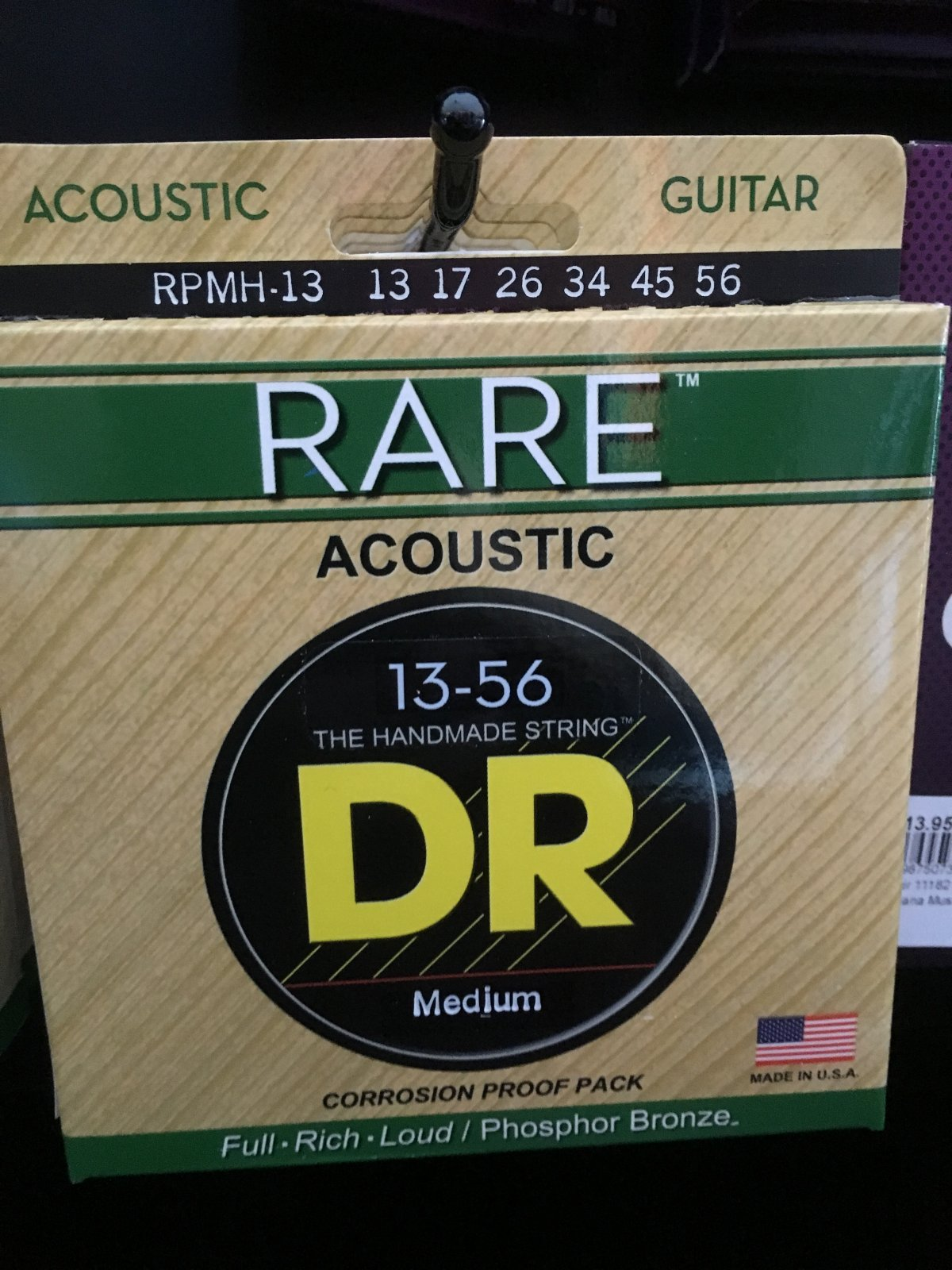 DR  RPMH-13 RARE PHOS BRONZE STRINGS