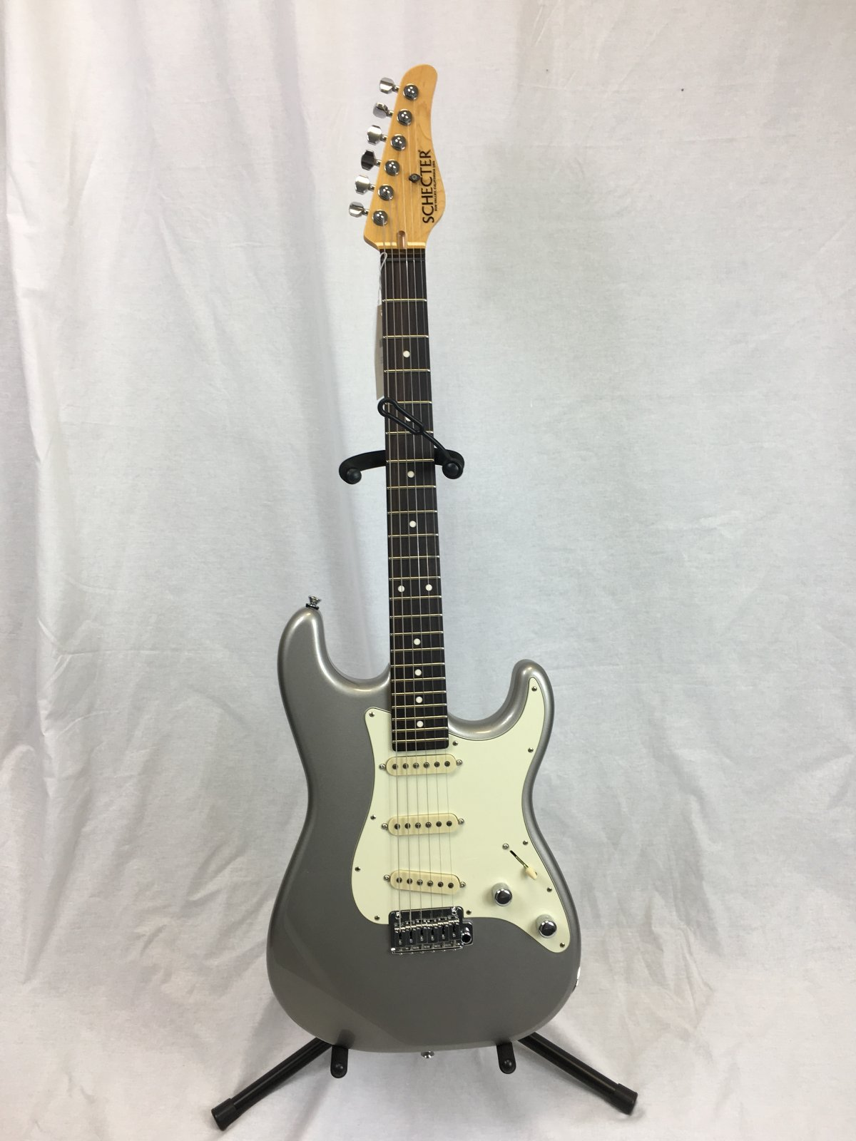 Schecter USA Nick Johnston Traditional Silver