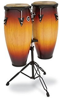 LP City 10/11 Conga Set w/ Stand - VSB