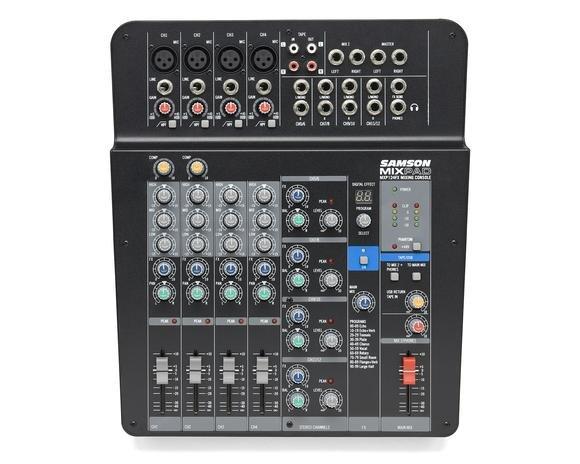 Samson Mixpad MXP124FX 12 input usb/fx stereo mixer