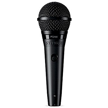 Shure PGA58 Vocal Microphone w/ 15' XLR Cable