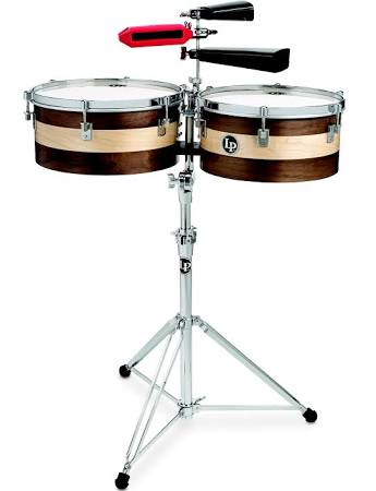 LP Shiela E Signature 13/14 Timbales - Wood
