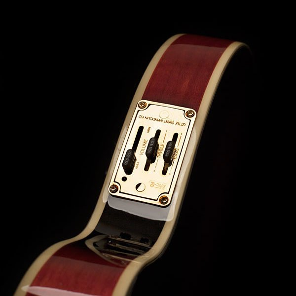 Washburn Americana F-Style Red Electric Mandolin with case